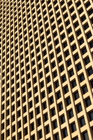 Abstract view of a downtown skyscraper  photo