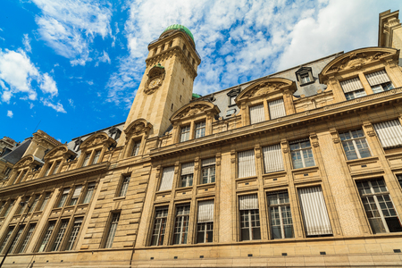 educational institution: The historic Sorbonne educational institution in Paris, France.