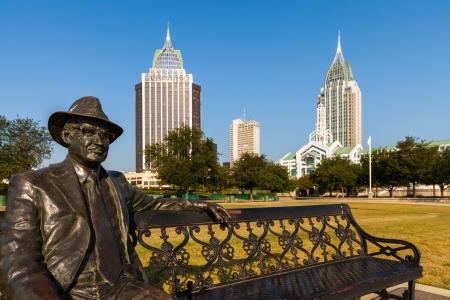Stadtbild der Innenstadt von Mobile, Alabama