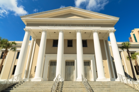 supreme court: State Supreme Court building in Tallahassee, Florida.