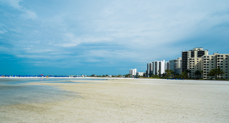 Pretty Fort Myers Beach on the west coast of Florida  photo