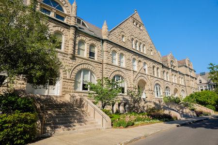 NEW ORLEANS, Louisiane - MAI 4,2014: Tulane University, fondée en 1834, est une université de recherche non confessionnelle privée située dans la Nouvelle-Orléans. Banque d'images - 28435683