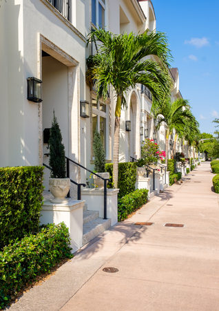 town homes: Typical urban style town homes