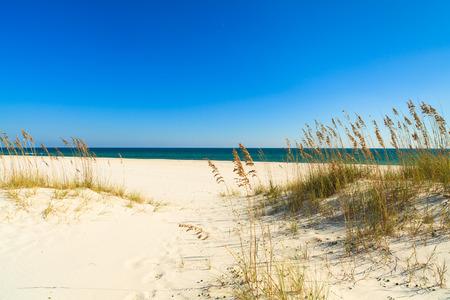 Beautiful Perdido Beach in Pensacola, Florida.
