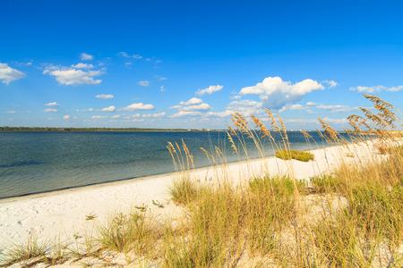 Beautiful Perdido Beach in Pensacola, Florida. Stock Photo