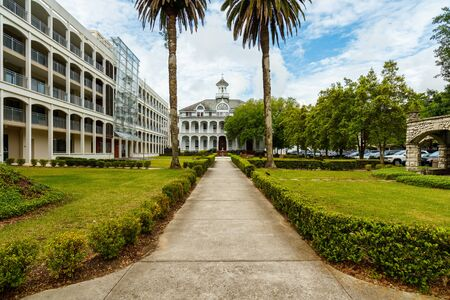 higher learning: New Orleans, LA USA - April 21,2016: Loyola  University, founded in 1904, is a coeducational private Jesuit institution located on historic Saint Charles Avenue.