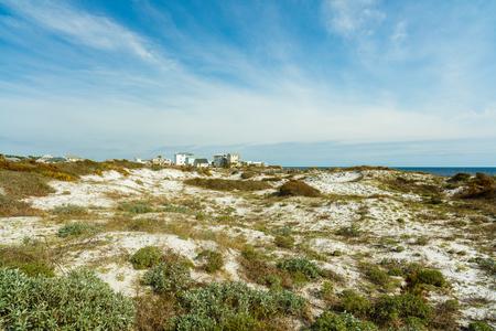 coastal: Beautiful North Florida panhandle coastal community and beach preserve. Stock Photo
