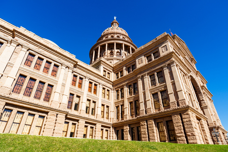 Beautiful Texas State Capitol building located in Austin.