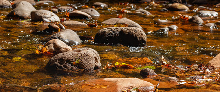 rocks water: Fresh water flowing over rocks on a valley creek.