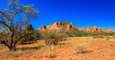 canyons: The natural beauty of the red rock canyons and sandstone of Sedona in Arizona.