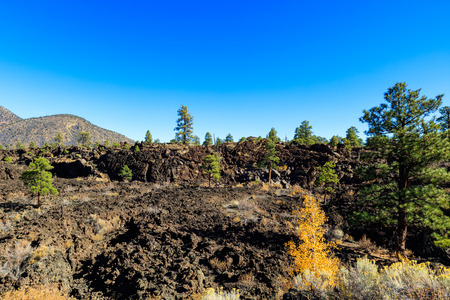 flagstaff: The natural beauty of the Sunset Crater Volcano in Flagstaff, Arizona.