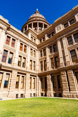 austin: Beautiful Texas State Capitol building located in Austin.