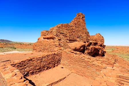 flagstaff: The Wupatki native american ruins located near Flagstaff, Arizona. Stock Photo