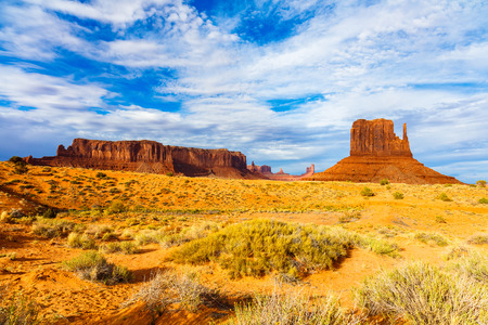The natural beauty of Monument Valley in Utah.