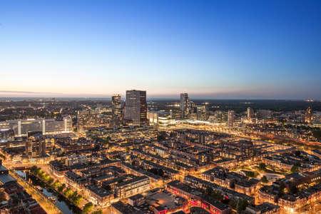 Den Haag van bovenaf Stockfoto