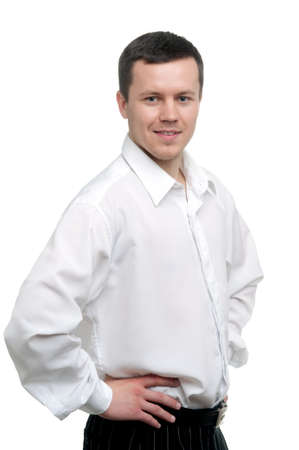 man in shirt and tie Stock Photo - 9914011
