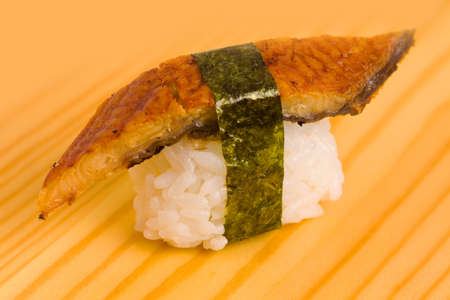 Japanese food sushi with chopsticks beautifully laid out Stock Photo - 17471925