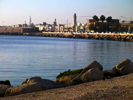 seascape waterfront in an urban area Stock Photo - 17493922