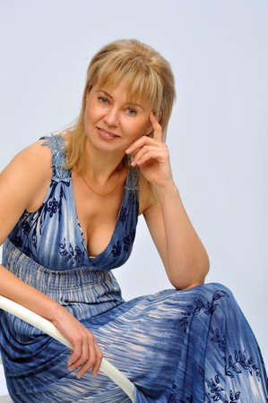 photo taken in a photo studio woman model photo