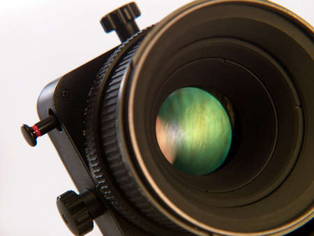 Photo of the lens from the camera on a white background Stock Photo - 17668559
