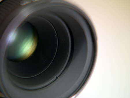 Photo of the lens from the camera on a white background Stock Photo - 17668553