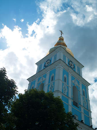 Orthodox church with golden domes Stock Photo - 17669633