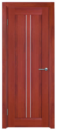 Photo stylish interior doors with real wood Stock Photo - 18513301