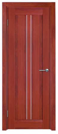 Photo stylish interior doors with real wood Stock Photo - 18513301