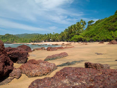 Photo of the beautiful and the beautiful beach of North Goa in India Stock Photo - 19081438