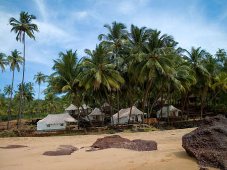 Photo of the beautiful and the beautiful beach of North Goa in India Stock Photo - 19081545