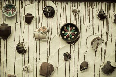 d�coration murale: D�cor de mur des plaques