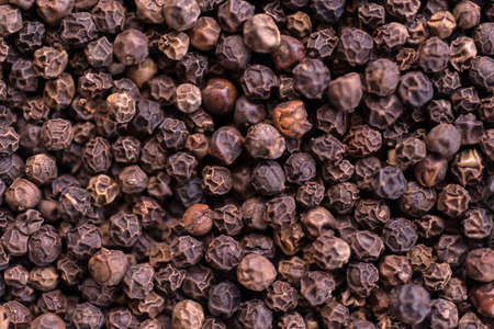 peppar: Black pepper spices for cooking meat, fish and salads