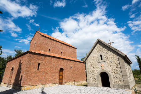 Orthodox church in the village of Kanda, where prayers are recited in Aramaic. Georgia