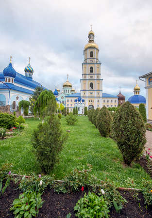 Architecture of the Orthodox Church in the village of Bancheni. Ukraine