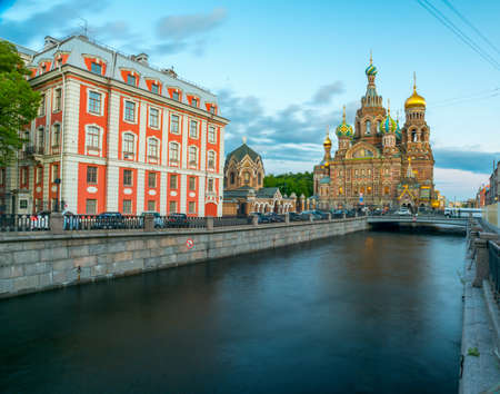 The Orthodox Church of the Savior on Blood in St. Petersburg