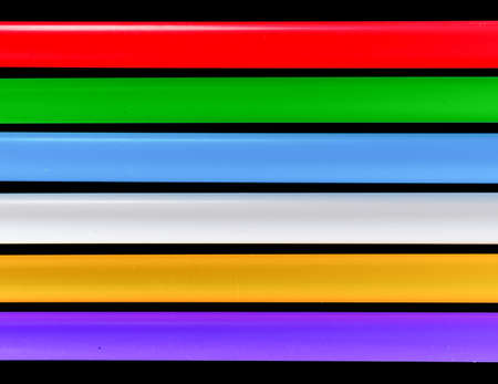 Colored stripes of different shades on a black background.