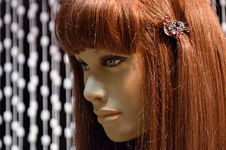 rebates: Portrait of female mannequin