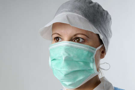 woman working in research Stock Photo - 6053326