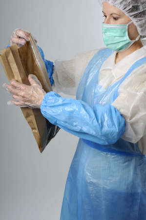 woman packing Stock Photo - 6053356