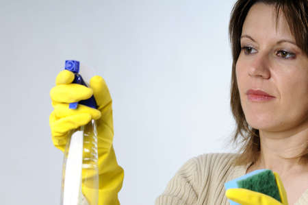 woman cleaner photo