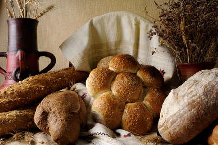 bread isolated photo