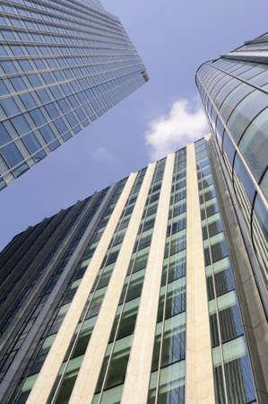edificio cristal: rascacielos de Londres Reino Unido Europa