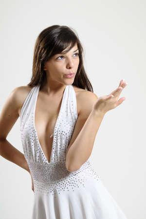 beautiful dancer posing