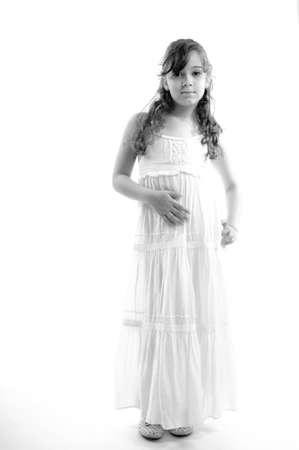 young model posing in studio Stock Photo - 9739327