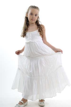 beautiful young model posing Stock Photo