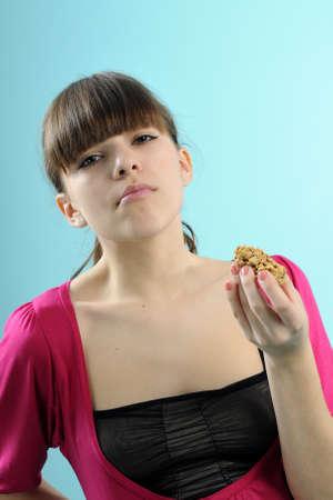 barra de cereal: barra de cereales alimentarios de bailarina Foto de archivo