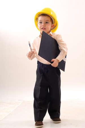 hombres trabajando: Administrador de poco trabajo
