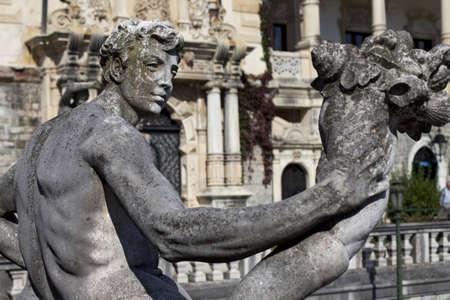 apollo stone statue