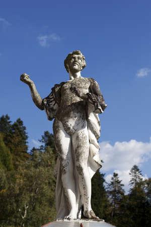 apollo foutain statue