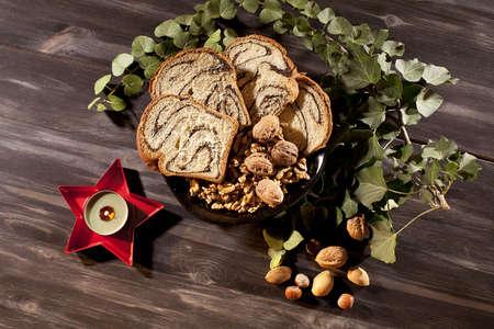 decoracion de pasteles: esponja mesa decoraci�n de pasteles de Navidad